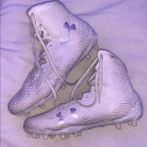 Under Armor cleats.